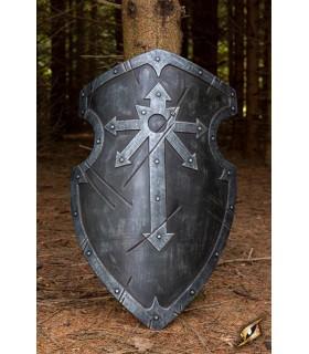 Scudo medievale Marauder 90 x 60 cm), lattice