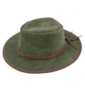 Verde cappello da cowboy del selvaggio west