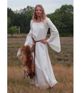 Abito donna medievale Burglinde maniche tromba