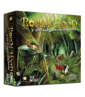 Scheda di gioco Robin Hood e i suoi allegri compagni (in spagnolo)
