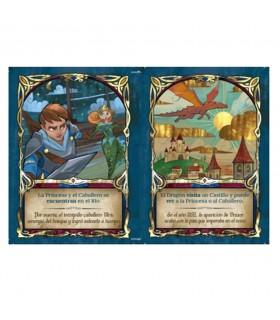 Scheda di gioco Fata Piastrelle, regno medievale (in spagnolo)