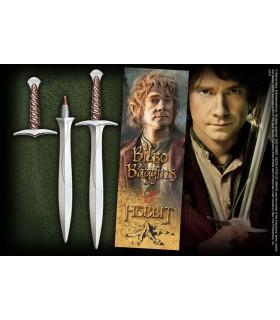 Penna e segnalibro pagine, la spada, il Dardo, Lo Hobbit