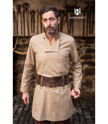 Tunica medievale uomo Einarr, canapa