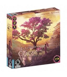 Gioco da tavolo La Leggenda dell'albero di Ciliegio che fiorisce una volta ogni dieci anni (In spagnolo)