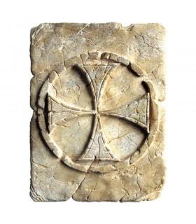 Impronta Storica Croce Templare, 20 x 15 cm