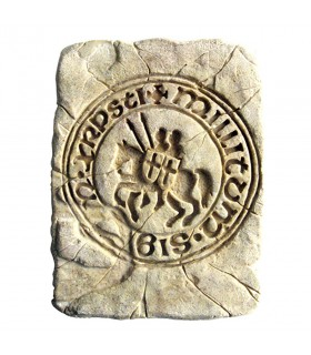 Impronta Storica Tenuta dei Cavalieri Templari, 20 x 15 cm