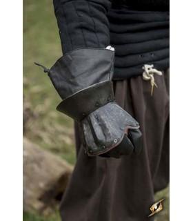 Guanti medievale semplice, Scuro, a forma di Clessidra