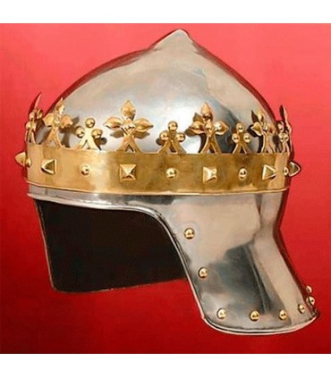 Casco Re Crociato, riccardo cuor di Leone