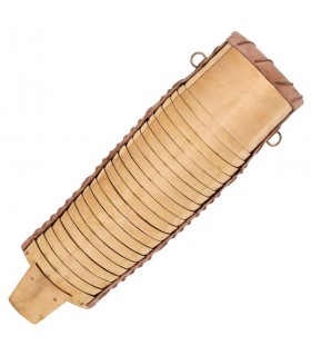 Braccio articolato Romano in ottone, Manica