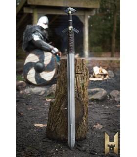 Spada vichinga Dreki serie Stronghold, in metallo di colore