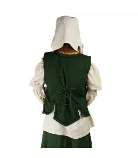 Giubbotto donna medievale modello Selma, verde