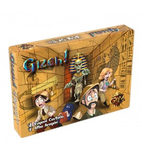 Gioco da tavolo di Giza (spagnolo, francese, inglese, tedesco)