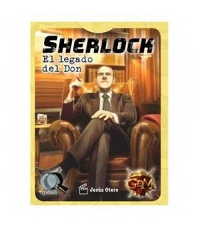 Gioco da tavolo Sherlock l'Eredità del Dono, in spagnolo