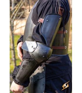 Di protezione, medievale braccio, finitura nera