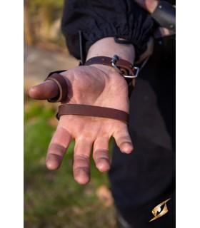 Guanti Scout Medievale, finitura nera