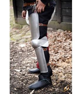 Protezione gambe di un Soldato, finitura satinata
