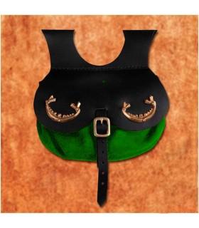 Borsa modello viking Thane, colore verde