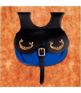 Borsa modello viking Thane, colore blu