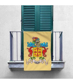 Banner Medievale 1 Cognome Personalizzato (70x100 cm.)