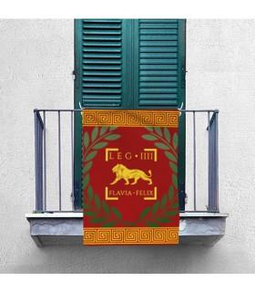 Banner Legio IV Flavia Felix Romano (70x100 cm.)