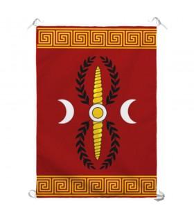 Standard Legione Romana SPQR, per interni ed esterni (70x100 cm.)