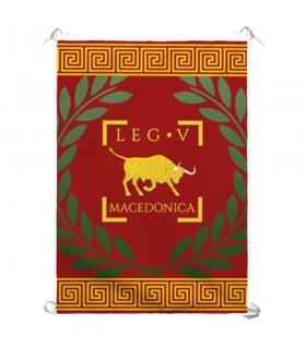 Stendardo Legio V Macedonica Romana (70x100 cm.)