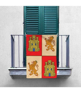 Banner Medievale di Castiglia e León (70x100 cm.)