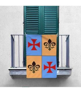 Banner Medievale Squartato Croce Templare (70x100 cm.)