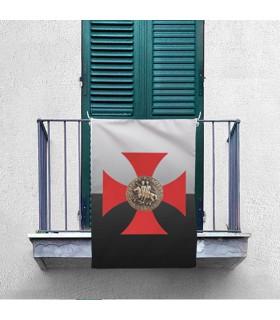 Banner Croce Cavalieri Templari (70x100 cm.)