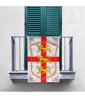Banner Riccardo I Cuore di Leone (70x100 cm.)