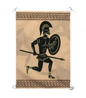 Banner Combattenti greci (70x100 cm.)