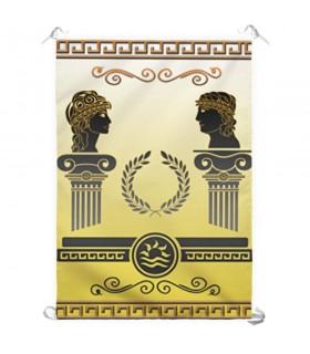Banner Divinità greche (70x100 cm.)