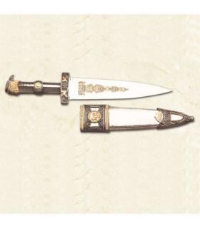 Pugnale romano con fodero in metallo