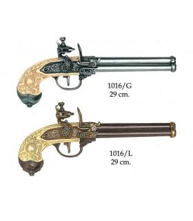 Italiani pistola 3 pistole prodotte da Lorenzoni, 1680