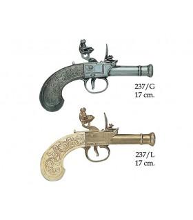 Pistola inglese prodotto da Bunney, XVIII secolo