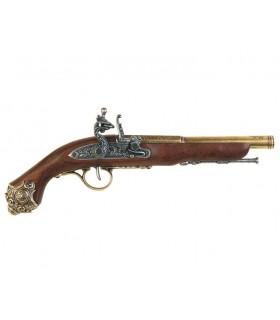 Pistola percussioni XVIII secolo