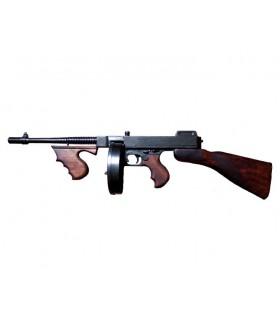 Thompson pistola mitragliatrice usata da gangster, Stati Uniti d'America 1928