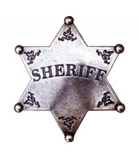 6 punte stella dello sceriffo