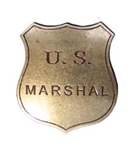 Piastra US Marshal