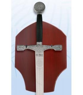 spada Excalibur con staffa appesa