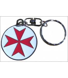Chiave Croce Maltese Templari