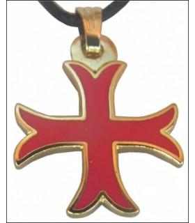 Croce Templare Ciondolo calcio