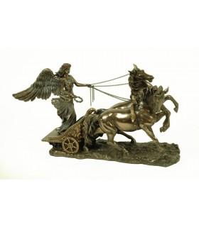 Bella figura dea greca della vittoria