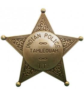 La polizia Badge India
