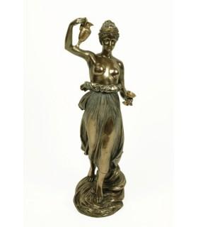 la figura greca Hebe, 31 cm.