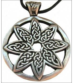 Pendente del fiore celtica