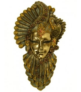 Fiore maschera veneziana