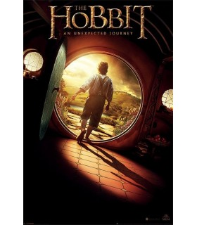 Poster The Hobbit, An Unexpected Journey, 61x91 cm.