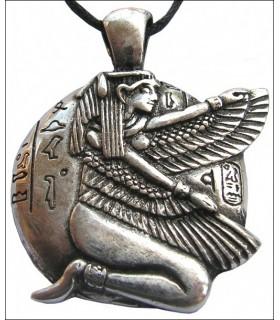 Ciondolo egizia Iside alata