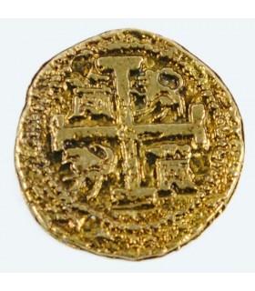 Moneta 2 Escudo doblone d'oro